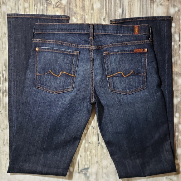 7 For All Mankind Denim - 7FAM Dark Wash Jeans Size 32